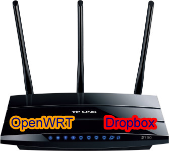 BASH Dropbox uploader on OpenWRT