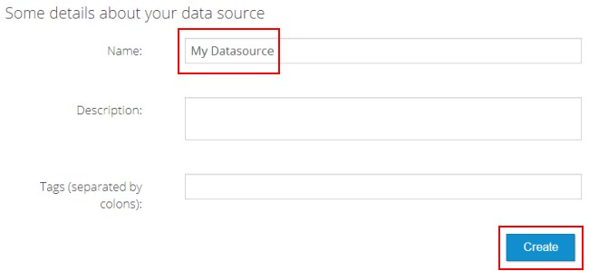 some details about your data source