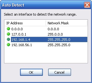 Auto Detect Local IP Range