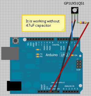 Arduino infrared receiver