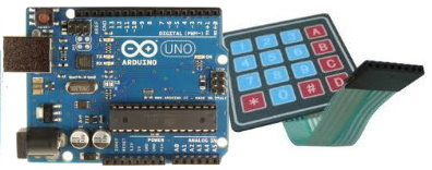 Arduino and Keypad