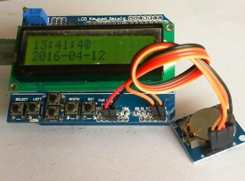 Arduino based LCD Digital Clock