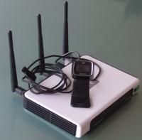 TP-LINK TL-WR1043ND Router + Web Cam = IP Cam