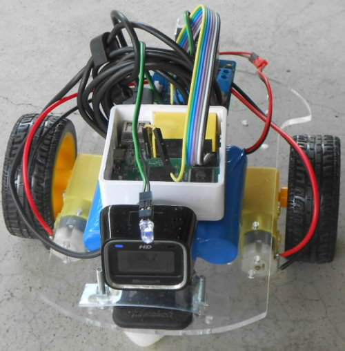 Wi Fi controlled Remote Control Car without microcontroller